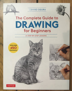 The Complete Guide to Drawing for Beginners: 21 Step-by-Step Lessons