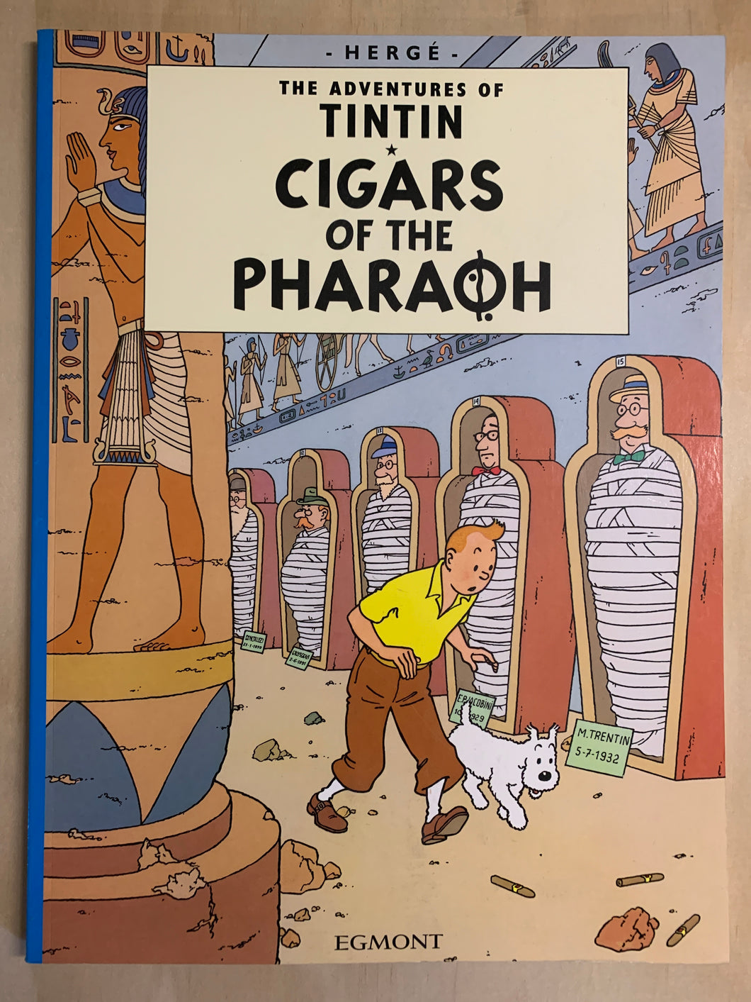 Tintin and the Cigars of the Pharaoh