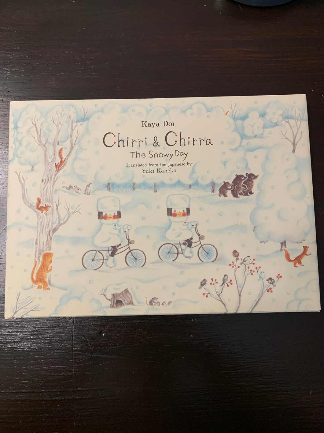 Chirri & Chirra- The Snowy Day