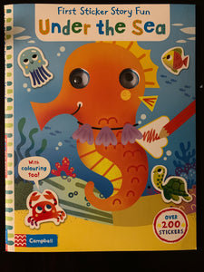First Sticker Story Fun: Under the Sea
