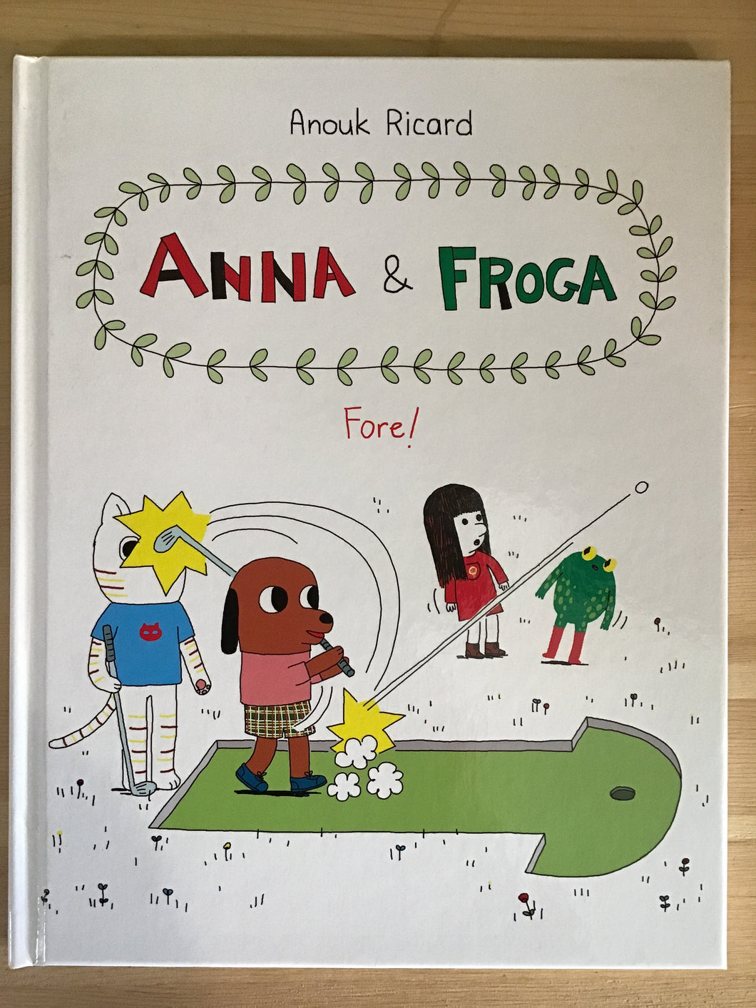 Anna & Froga: Fore!