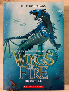 Wings of Fire: The Lost Heir Book 2
