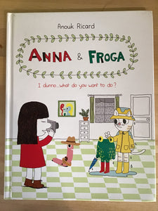 Anna & Froga: I dunno...what do you want to do?