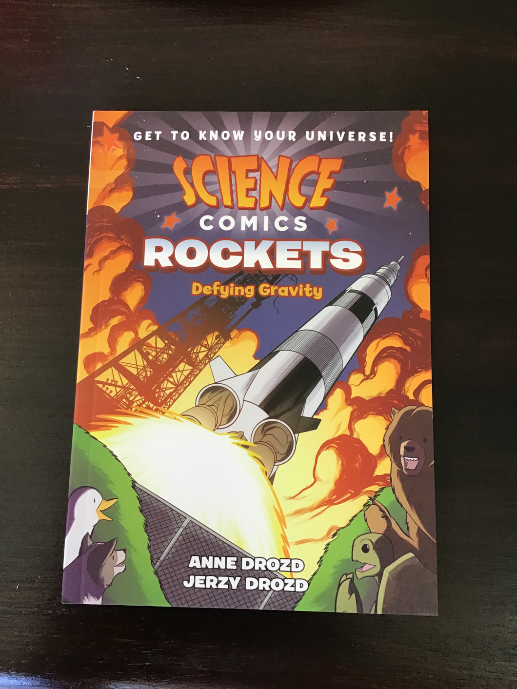 Science Comics: Rockets, Defying Gravity