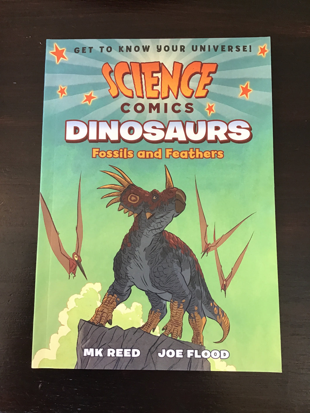 Science Comics: Dinosaurs, Fossils and Feathers