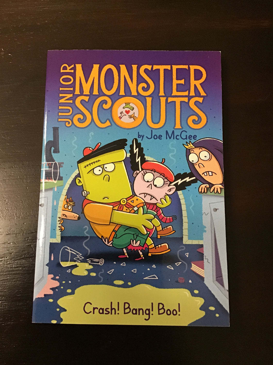 Junior Monster Scouts #2: Crash! Bang! Boo!