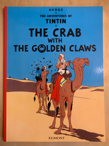 Tintin and the Crab With The Golden Claws