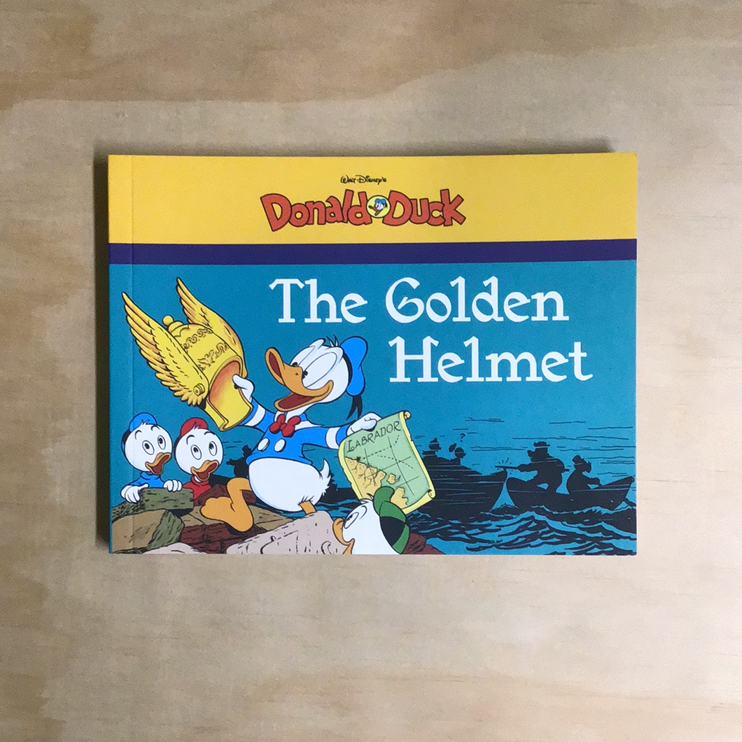 Donald Duck: The Golden Helmet