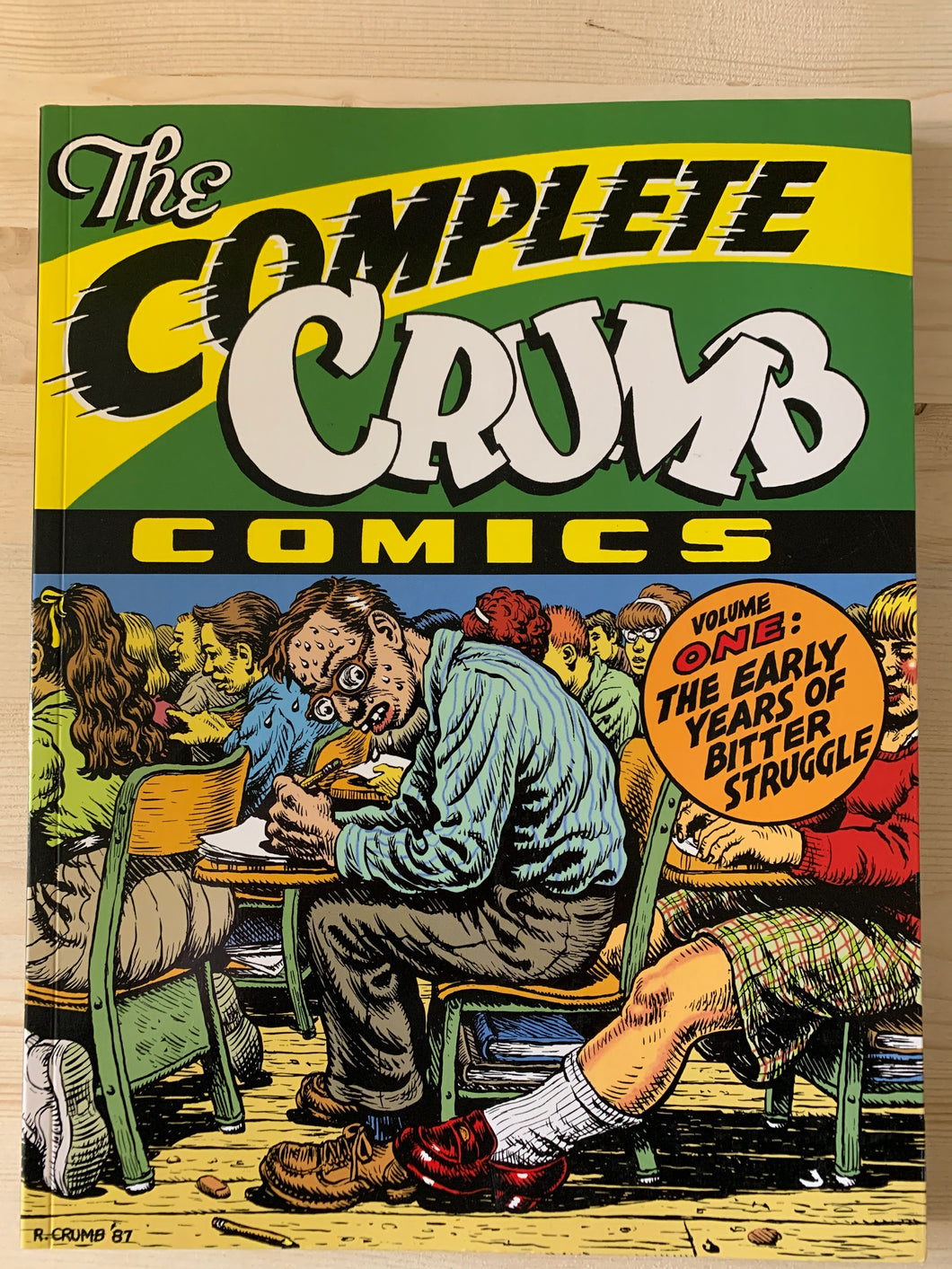 The Complete Crumb Comics Vol 1