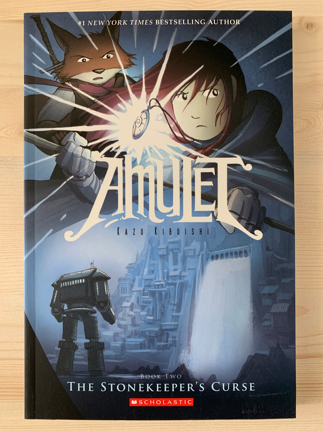 Amulet Book Two: The Stonekeeper's Curse