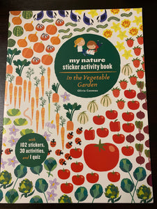 My Nature Sticker Activity Book: In the Vegetable Garden