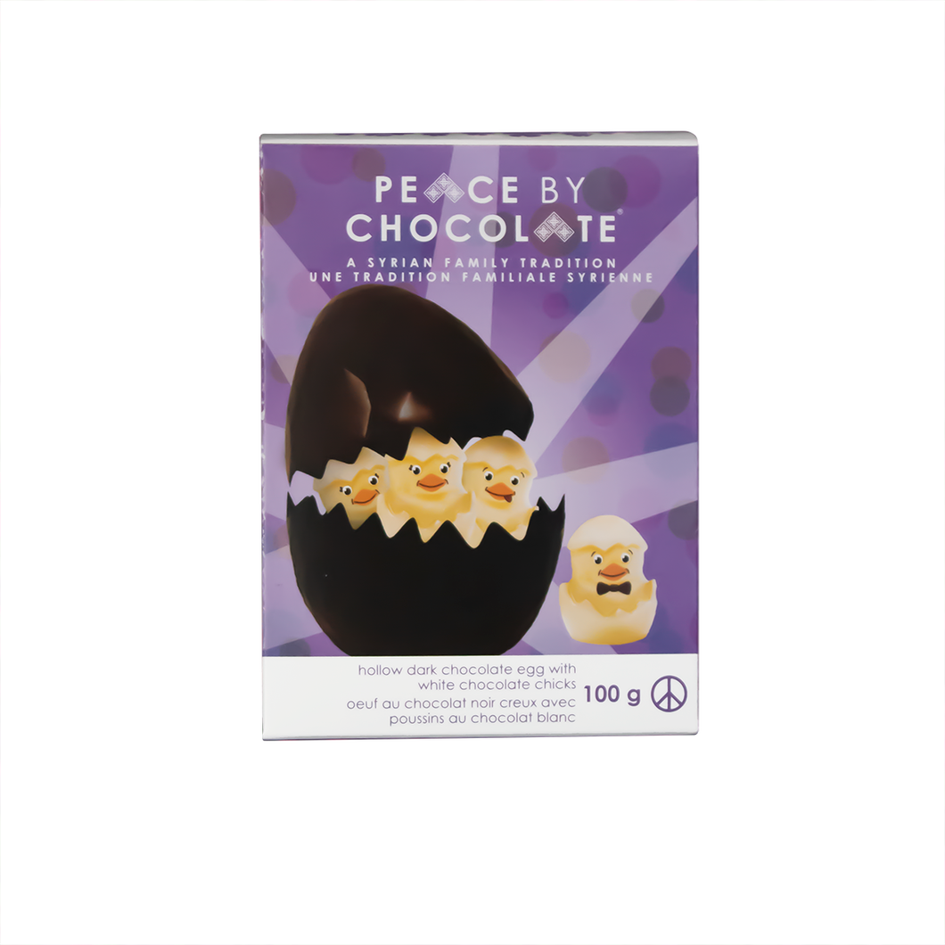 Easter Egg with Chicks