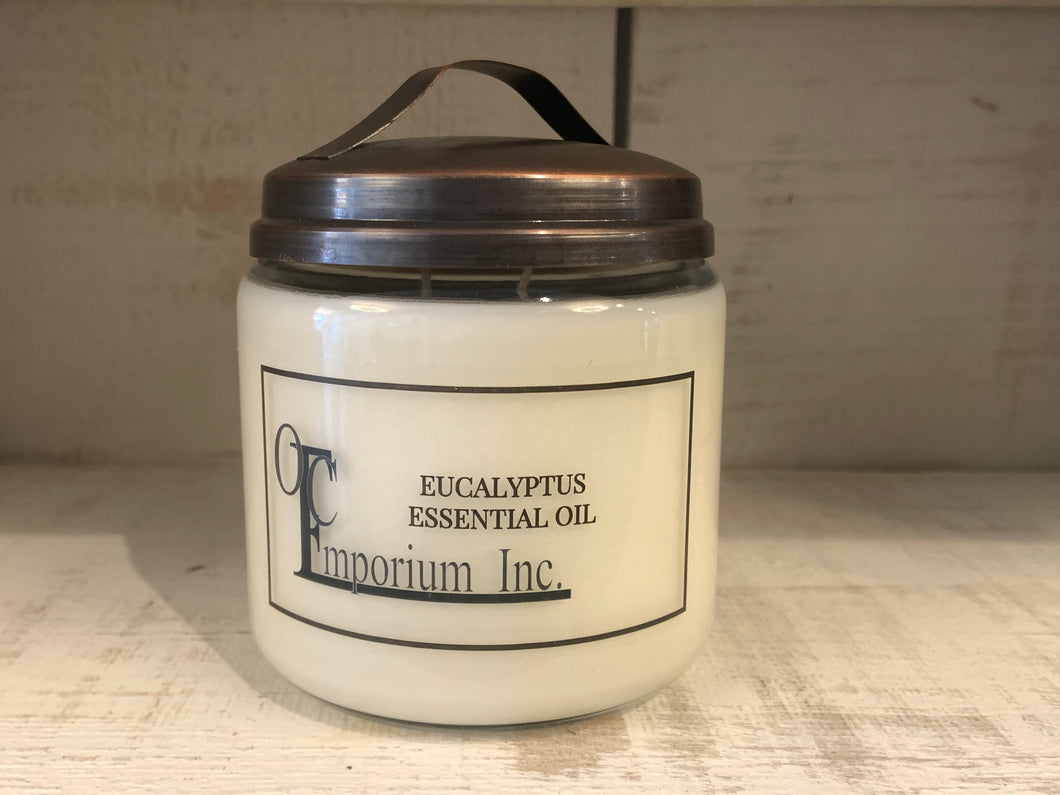 Soy Candle - Eucalyptus Essential Oil