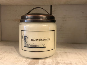 Soy Candle - Lemon Poppyseed
