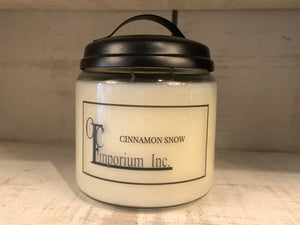 Soy Candle - Cinnamon Snow
