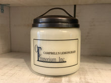 Load image into Gallery viewer, Soy Candle - Campbell's Lemongrass