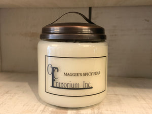 Soy Candle - Maggie's Spicy Pear
