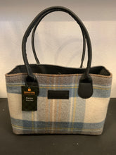 Load image into Gallery viewer, Stewart Muted Blue Patricia Wool Purse