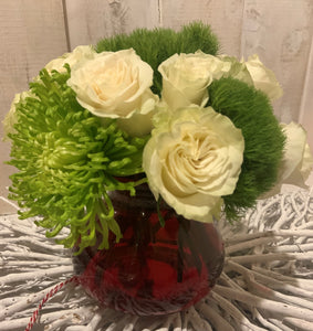 Nature's Kiss floral arrangement