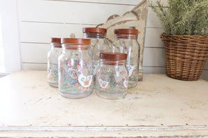 Canisters - Painted & Stenciled