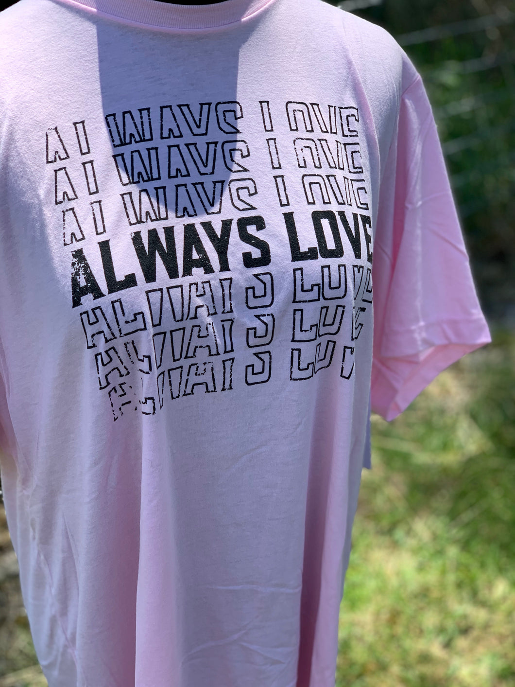 Always Love Graphic Tee