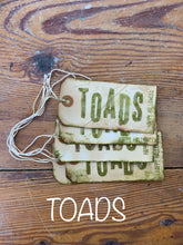 Load image into Gallery viewer, Artisan Handmade Tags - Halloween