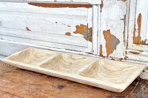 Wooden Sorting Bowl