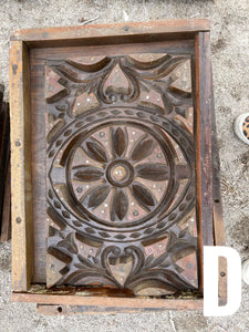 Small Antique Cement Molds
