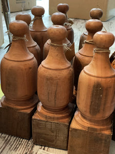 Reclaimed Wood Finials
