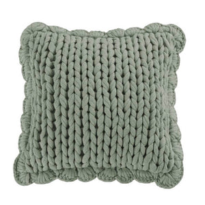 Chunky Knit Pillows