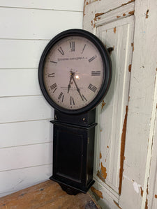 Hanging Black Clock will be painted