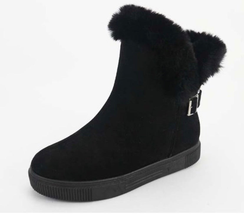 Faux Fur Lined Boot