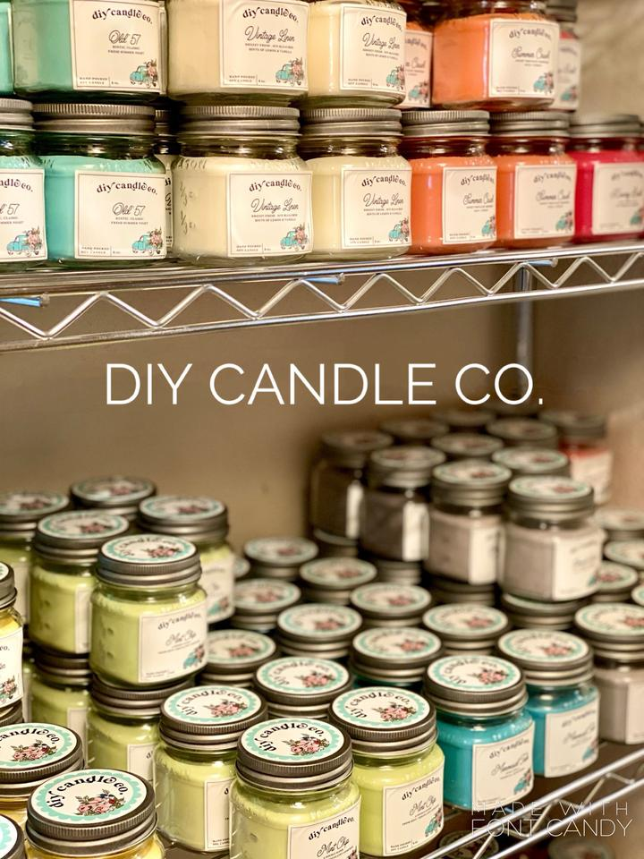 DIY Paint Co Candles