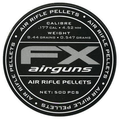 FX Airgun Pellets .177 4.52 - 8.44gr