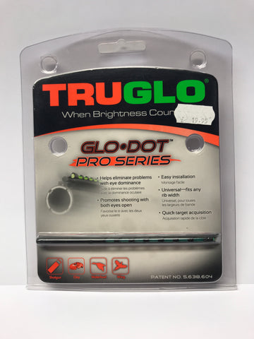 TruGlo - Glo Dot - Pro Series - Long - Green