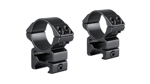 Hawke Match Mounts Weaver - 2 Piece - 30mm - High - 22117