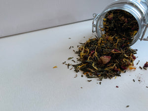 Pomegranate Lavender Green Tea