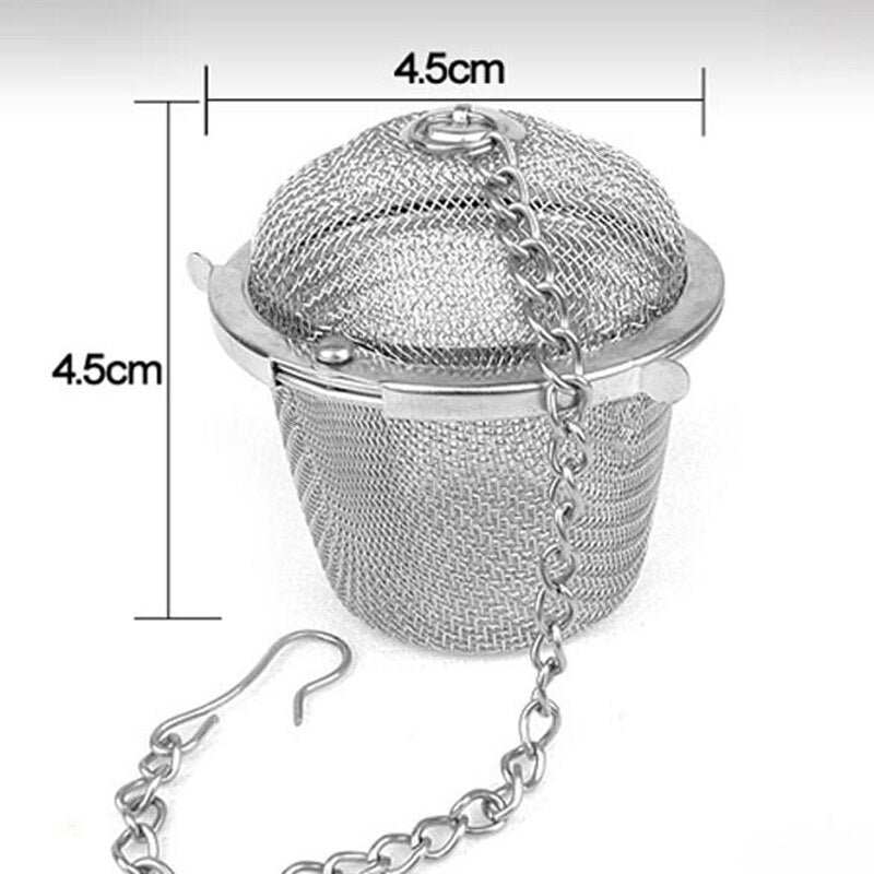 Stainless Steel Spice Tea Strainer Mesh Infuser