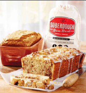 SOBERDOUGH, APPLE FRITTER BREAD
