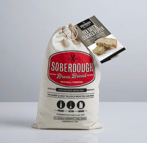 SoberDough -Sea Salt & Cracked Pepper