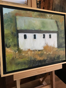 "Original Art ""Green Barn"""