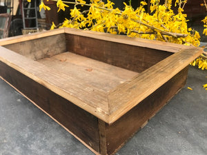 Reclaimed Wood Planter Box