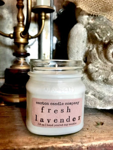Easton Candle, Fresh Lavender