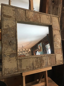 Reclaimed Square Mirror