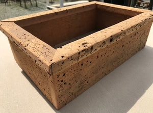 Rustic Wormhole Herb Box Tray