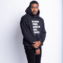 Load image into Gallery viewer, No Weapon Hoodie-Black