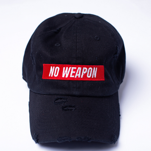 No Weapon Dad Hat