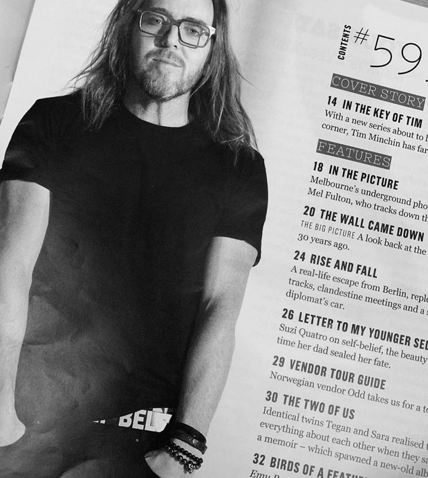 SPOTTED: @timminchin | Big Issue #599