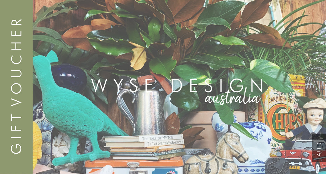 Wyse Design | Bespoke Designer Crystal bracelet | Gift Vouchers Available