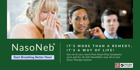 Get Allergy Relief With NasoNeb's All-In-One Sinus Therapy System